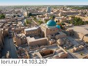 Купить «Вид на Мавзолей Пахлаван-Махмуда», фото № 14103267, снято 18 сентября 2007 г. (c) Elizaveta Kharicheva / Фотобанк Лори