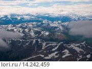 Купить «Aerial of Los Glaciares National Park, UNESCO World Heritage Site, Patagonia, Argentina, South America», фото № 14242459, снято 4 августа 2020 г. (c) age Fotostock / Фотобанк Лори