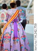 Fallera. Valencia. Comunidad Valenciana. Spain. Стоковое фото, фотограф Javier Larrea / age Fotostock / Фотобанк Лори