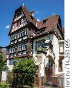 Купить «Marzolff house at Lycée des Pontonniers international high school Strasbourg Alsace France.», фото № 14260095, снято 21 апреля 2019 г. (c) age Fotostock / Фотобанк Лори