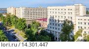 Купить «Хабаровский окружной военный клинический госпиталь №301», фото № 14301447, снято 9 сентября 2015 г. (c) Игорь Сарапулов / Фотобанк Лори