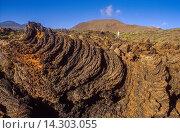 Купить «Volcanic formations, Lajial, La Restinga, El Hierro, Canary Island, Spain, Europe.», фото № 14303055, снято 15 ноября 2019 г. (c) age Fotostock / Фотобанк Лори