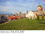 Купить «Самара.  Иверский женский монастырь», фото № 14313347, снято 22 апреля 2015 г. (c) Игорь Потапов / Фотобанк Лори