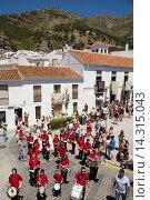 Купить «Celebration of Corpus Christi, Mijas, Málaga province, Andalusia, Spain», фото № 14315043, снято 27 июня 2013 г. (c) age Fotostock / Фотобанк Лори