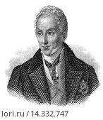 Купить «Prince Klemens Wenzel von Metternich, 1773 - 1859, Earl of Kynzvart, Duke of Portella, statesman in imperial Austria.», фото № 14332747, снято 18 марта 2018 г. (c) age Fotostock / Фотобанк Лори