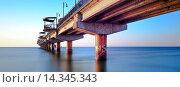 Купить «Baltic Sea - Mi?dzyzdroje (Misdroy) is a town and a seaside resort in northwestern Poland on the island of Wolin on the Baltic coast. Previously in the...», фото № 14345343, снято 18 августа 2019 г. (c) age Fotostock / Фотобанк Лори