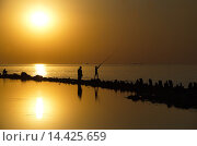 Рыбалка. Стоковое фото, фотограф Александр Ручко / Фотобанк Лори