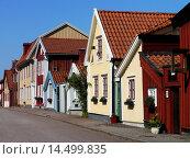 Купить «Street Scene in Kalmar, Kalmar län, Småland, Sweden / Straßenszene in Kalmar, Kalmar län, Småland, Schwede», фото № 14499835, снято 1 августа 2011 г. (c) age Fotostock / Фотобанк Лори