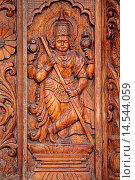 Купить «Wooden Carving at Shri Damodar Temple Zambaulim, Goa, India.», фото № 14544059, снято 20 июля 2018 г. (c) age Fotostock / Фотобанк Лори