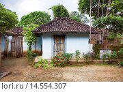Купить «Tribal house. Munda tribe. Khunti, District Ranchi, Jharkhand, India.», фото № 14554307, снято 11 сентября 2013 г. (c) age Fotostock / Фотобанк Лори