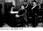 Marco Barbone questioned during the trial for the killing of Pierluigi Torregiani. Italian terrorist member of the left-wing terrorist group 28th March... Редакционное фото, фотограф Alberto Roveri / age Fotostock / Фотобанк Лори
