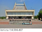 Купить «Omsk State Music Theater, Omsk, Omsk Oblast, Siberia, Russia», фото № 14594407, снято 20 июня 2008 г. (c) age Fotostock / Фотобанк Лори