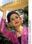 Купить «traditional folk dance performed at Vimanmek Mansion, Bangkok, Thailand, Southeast Asia.», фото № 14616295, снято 16 июня 2019 г. (c) age Fotostock / Фотобанк Лори