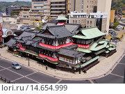 Купить «Dogo Onsen Honkan», фото № 14654999, снято 22 октября 2018 г. (c) age Fotostock / Фотобанк Лори