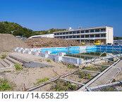 Купить «Toyoma Junior High School», фото № 14658295, снято 22 октября 2018 г. (c) age Fotostock / Фотобанк Лори