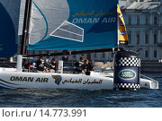 Extreme Sailing Series in St. Petersburg, Russia, фото № 14773991, снято 22 августа 2015 г. (c) Stockphoto / Фотобанк Лори