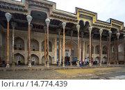 Купить «Uzbekistan ,Bukhara City, Bolo Khaouz Mosque.», фото № 14774439, снято 23 февраля 2019 г. (c) age Fotostock / Фотобанк Лори