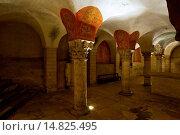 Купить «CRYPT OF NOTRE DAME CATHEDRAL IN BAYEUX - CALVADOS - NORMANDY - FRANCE», фото № 14825495, снято 1 ноября 2004 г. (c) age Fotostock / Фотобанк Лори