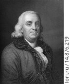 Купить «Benjamin Franklin, 1706 - 1790, a North American printer, publisher, writer, scientist, inventor and statesman,.», фото № 14876219, снято 19 марта 2019 г. (c) age Fotostock / Фотобанк Лори
