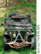 Купить «Jeep Willys MB, M38, year of construction 1945», фото № 14878459, снято 19 июня 2018 г. (c) age Fotostock / Фотобанк Лори