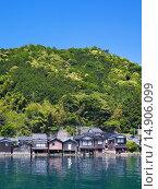 Купить «Boat Shop, Ine, Kyoto, Kinki, Japan», фото № 14906099, снято 21 июля 2018 г. (c) age Fotostock / Фотобанк Лори
