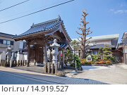 Купить «Hensho-ji Temple, Yamaguchi, Sanyo, Japan», фото № 14919527, снято 20 сентября 2018 г. (c) age Fotostock / Фотобанк Лори