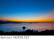 Купить «Sunset, Yamaguchi, Sanyo, Japan», фото № 14919727, снято 20 сентября 2018 г. (c) age Fotostock / Фотобанк Лори