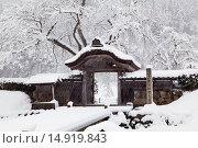 Купить «Taniasacra ruins, Fukui, Hokuriku, Japan», фото № 14919843, снято 14 ноября 2018 г. (c) age Fotostock / Фотобанк Лори