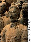 Купить «Replicas of Ancient Terra Cotta Warriors», фото № 14992099, снято 10 июля 2020 г. (c) age Fotostock / Фотобанк Лори
