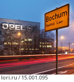 Купить «Opel Werke in Bochum schliessen 2014, Bochum, Ruhrgebiet, Nordrhein-Westfalen, Deutschland, Europa.», фото № 15001095, снято 4 июля 2020 г. (c) age Fotostock / Фотобанк Лори