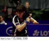 Купить «Tischtennis German Open 2014 vom 26.03. - 30.03.2014 in Magdeburg», фото № 15006199, снято 24 апреля 2019 г. (c) age Fotostock / Фотобанк Лори