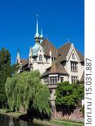 Купить «Lycée des Pontonniers International high school Strasbourg Alsace France.», фото № 15031887, снято 21 апреля 2019 г. (c) age Fotostock / Фотобанк Лори