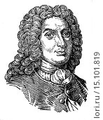 Купить «Johann Bernoulli (1667-1748), Mathematician, illustration from Soviet encyclopedia, 1927.», фото № 15101819, снято 22 ноября 2012 г. (c) age Fotostock / Фотобанк Лори