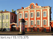 Купить «Здание Двенадцати коллегий. Санкт-Петербург», эксклюзивное фото № 15173375, снято 8 декабря 2015 г. (c) Анна Зеленская / Фотобанк Лори