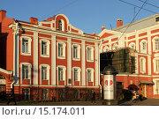 Купить «Здание Двенадцати коллегий. Санкт-Петербург», эксклюзивное фото № 15174011, снято 8 декабря 2015 г. (c) Анна Зеленская / Фотобанк Лори