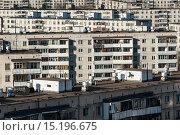 Купить «Виды Москвы. Жилой фонд на востоке столицы», фото № 15196675, снято 26 марта 2008 г. (c) Михаил Михин / Фотобанк Лори