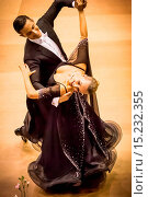 Купить «couple dancing slow waltz», фото № 15232355, снято 23 февраля 2019 г. (c) age Fotostock / Фотобанк Лори