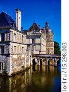 France, Maine et Loire, Saint Georges sur Loire, Serrant Castle. Стоковое фото, фотограф Philippe Michel / age Fotostock / Фотобанк Лори