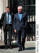 Купить «Herman Van Rompuy, President of the European Council, leaves 10 Downing Street after meeting British Prime Minister David Cameron. Featuring: Herman Van...», фото № 15344183, снято 23 июня 2014 г. (c) age Fotostock / Фотобанк Лори