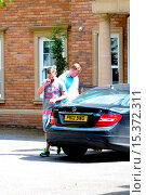 Купить «Family members arrives at the home of Danielle Lloyd and Jamie O'Hara, amid reports of marital trouble between the pair Featuring: Atmosphere Where: Sutton...», фото № 15372311, снято 28 июля 2014 г. (c) age Fotostock / Фотобанк Лори