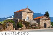 Купить «Старые семейные склепы на католическом кладбище в Проприано, Корсика, Франция», фото № 15416615, снято 4 июля 2015 г. (c) EugeneSergeev / Фотобанк Лори