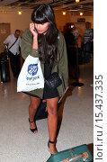 Купить «Jameela Jamil arrives at Los Angeles International (LAX) airport Featuring: Jameela Jamil Where: Los Angeles, California, United States When: 01 Sep 2014 Credit: WENN.com», фото № 15437335, снято 1 сентября 2014 г. (c) age Fotostock / Фотобанк Лори