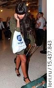 Купить «Jameela Jamil arrives at Los Angeles International (LAX) airport Featuring: Jameela Jamil Where: Los Angeles, California, United States When: 01 Sep 2014 Credit: WENN.com», фото № 15437843, снято 1 сентября 2014 г. (c) age Fotostock / Фотобанк Лори