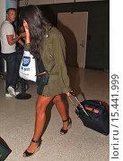 Купить «Jameela Jamil arrives at Los Angeles International (LAX) airport Featuring: Jameela Jamil Where: Los Angeles, California, United States When: 01 Sep 2014 Credit: WENN.com», фото № 15441999, снято 1 сентября 2014 г. (c) age Fotostock / Фотобанк Лори