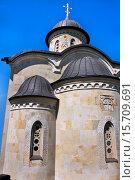 Возрожденный древний Зверинецкий монастырь. Стоковое фото, фотограф Левончук Юрий / Фотобанк Лори