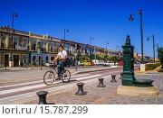 Купить «Pavia street,Cabañal quarter,Valencia,Spain.», фото № 15787299, снято 25 февраля 2020 г. (c) age Fotostock / Фотобанк Лори