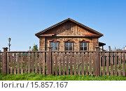 Остров-град Свияжск. Старый деревянный дом (2015 год). Стоковое фото, фотограф Victoria Demidova / Фотобанк Лори