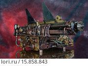 Купить «Механизм в ретро-футуристическом стиле», фото № 15858843, снято 29 ноября 2015 г. (c) Валерий Александрович / Фотобанк Лори