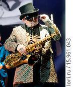 Купить «Madness perform at the 3Arena in Dublin Featuring: Madness, Lee Thompson Where: Dublin, Ireland When: 16 Dec 2014 Credit: WENN.com», фото № 15961043, снято 16 декабря 2014 г. (c) age Fotostock / Фотобанк Лори
