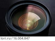 Купить «close up of camera lens», фото № 16004847, снято 11 ноября 2015 г. (c) Syda Productions / Фотобанк Лори